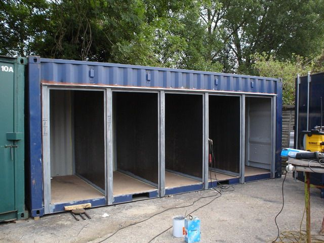 Shipping Container Storage Ideas Part - 32: ... Shipping Container Modification And Repair 013_01