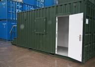 Welfare unit through Personnle door