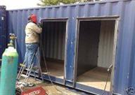 shipping container modification and repair 034